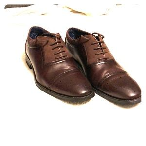 Brown dress shoes size 9